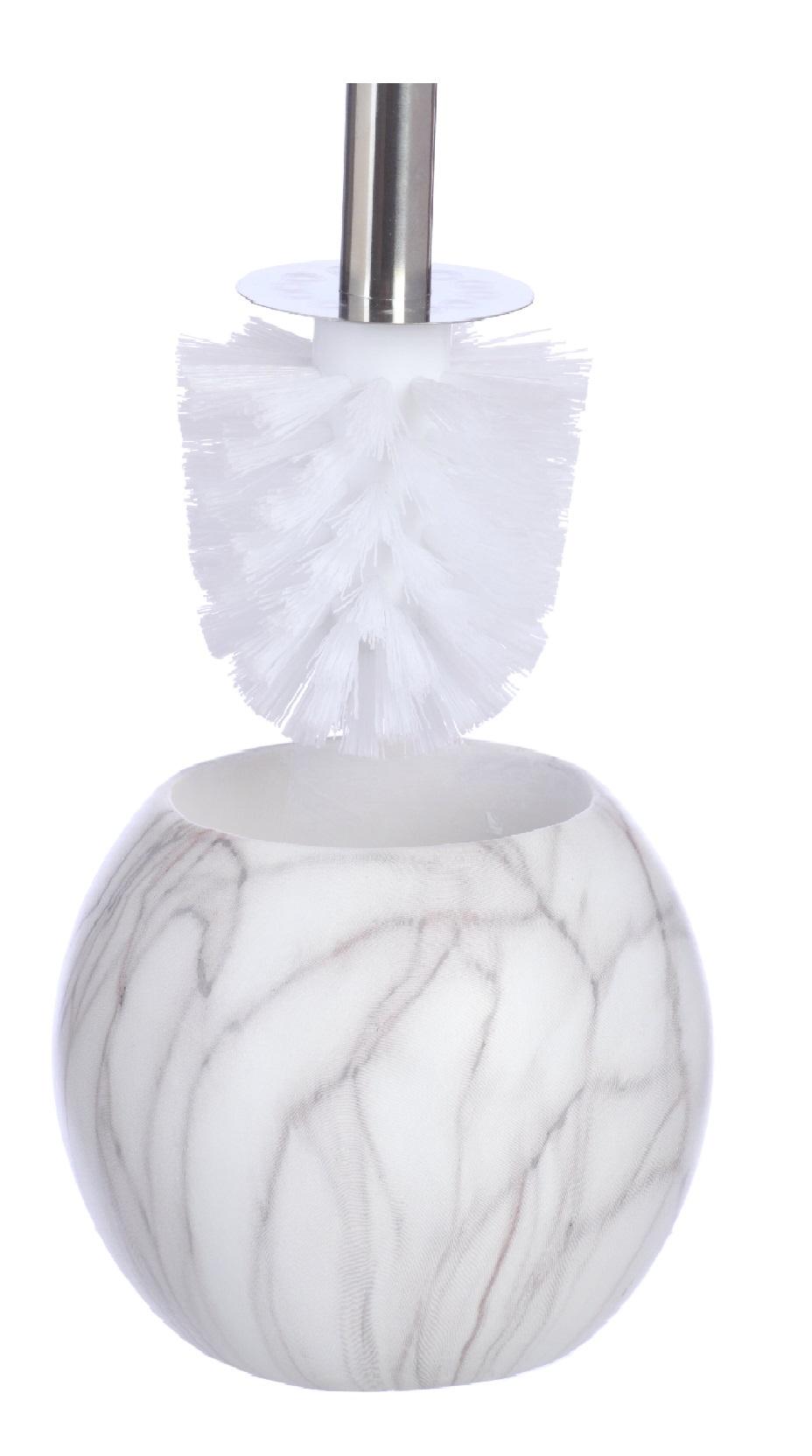 Ершик для унитаза Vanstore 400-06, белый ершик для унитаза vanstore 339 06 оранжевый