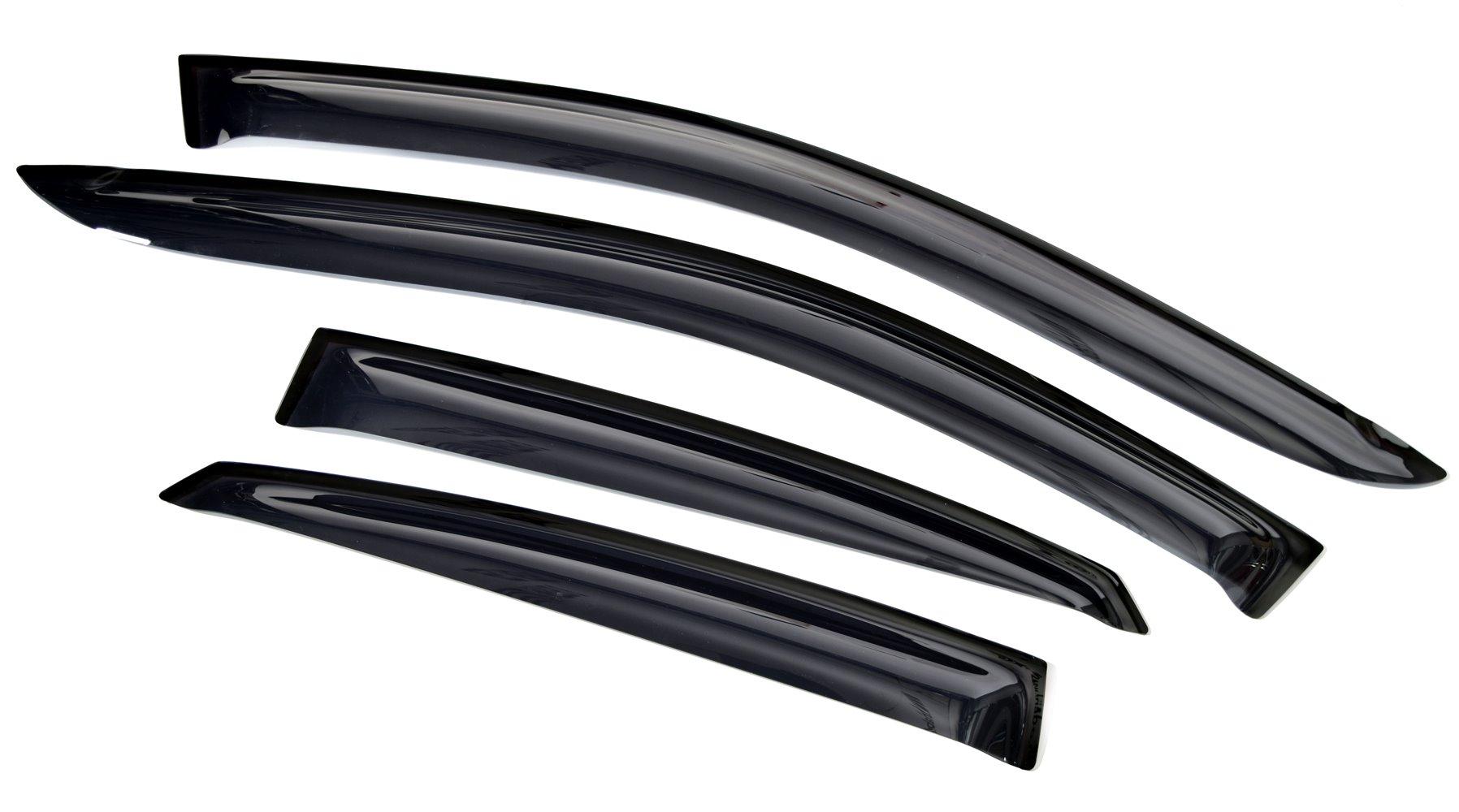 Ветровик SIM Дефлекторы боковых окон Daewoo Gentra(2013-) (4ч.темн) дефлекторы окон autofamily sim daewoo matiz 2006 комплект 4шт nld sdamat0632