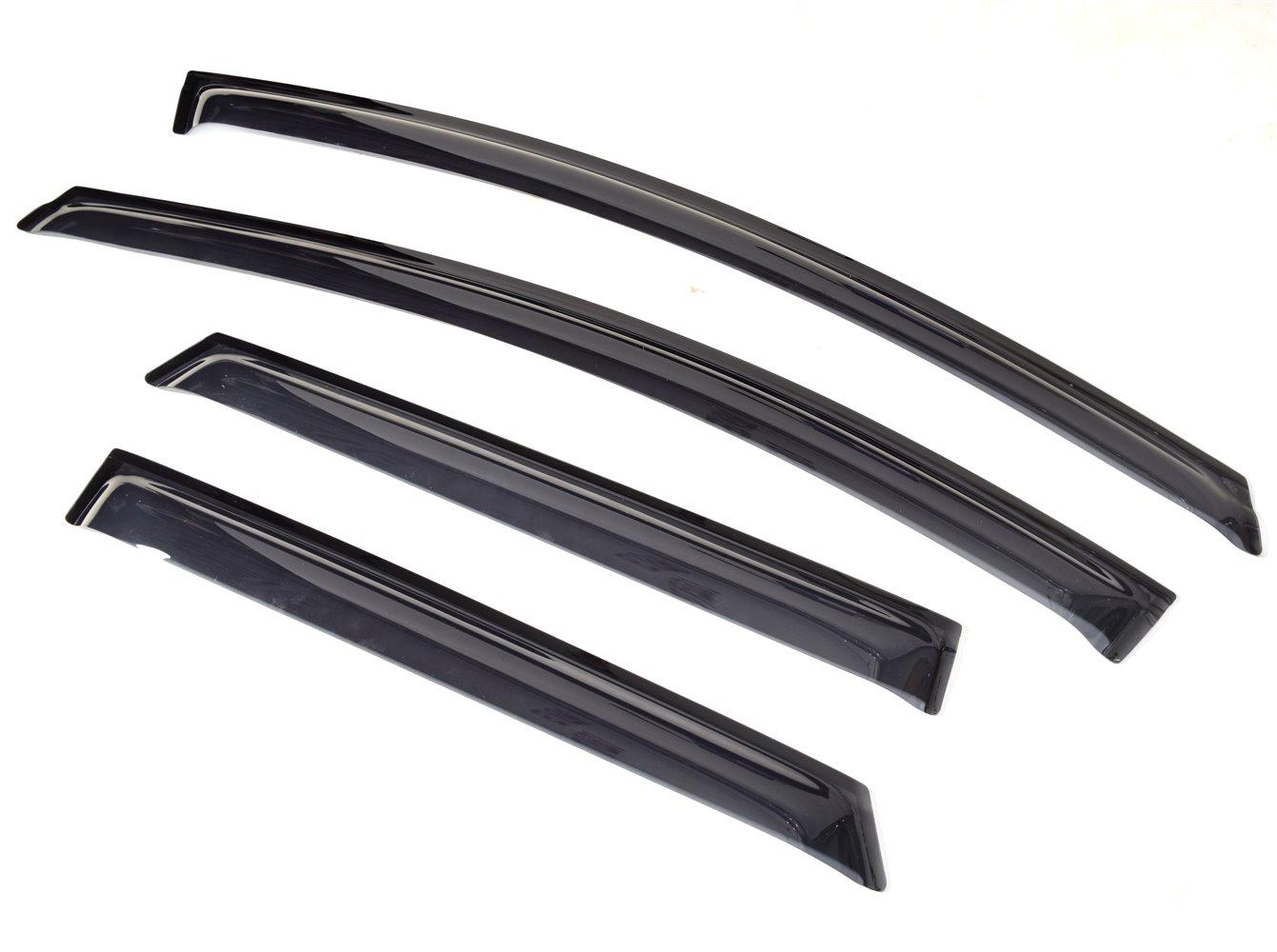 цены на Ветровик SIM Дефлекторы боковых окон Ford Focus III WG(2011-) темный 4 части  в интернет-магазинах