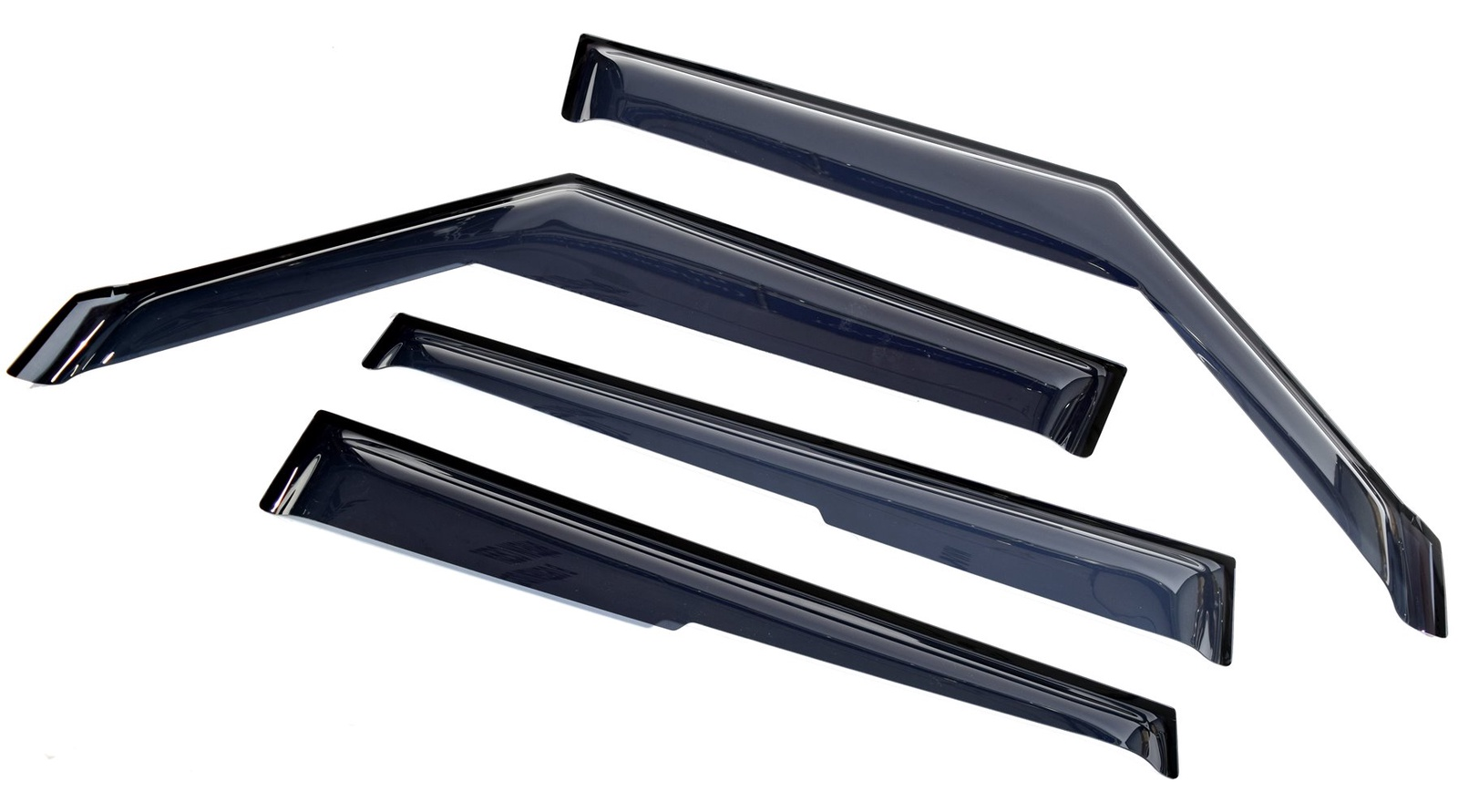Ветровик SIM Дефлекторы боковых окон Kia Soul (Киа Соул) (2009-2014) (4шт.) (темн) дефлекторы окон autofamily sim daewoo matiz 2006 комплект 4шт nld sdamat0632