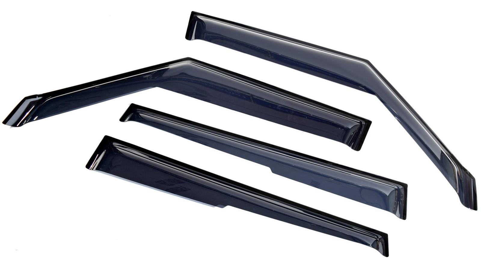 цена на Ветровик SIM Дефлекторы боковых окон Kia Soul (Киа Соул) (2009-2014) (4шт.) (темн)