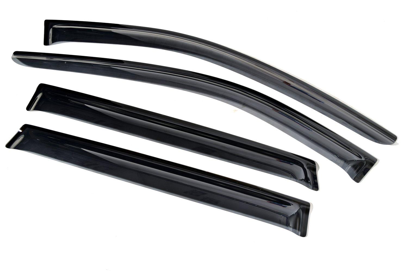Ветровик SIM Дефлекторы боковых окон Nissan X-Trail (2015-) (4шт.) (темн.)