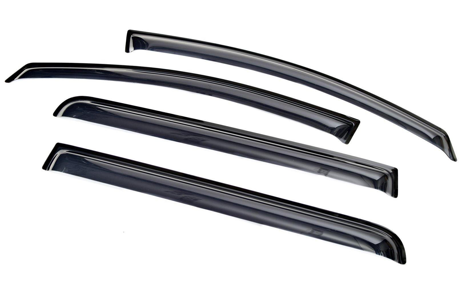 Ветровик SIM Дефлекторы боковых окон Opel Zafira B (2006-2012)(4части )(темные)