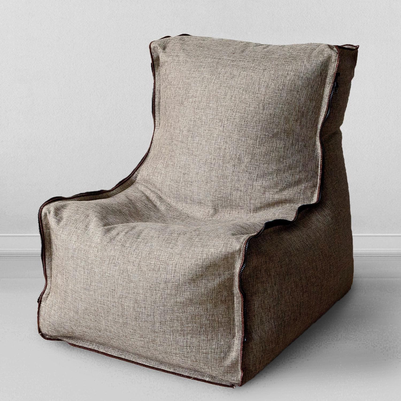 Кресло-мешок MyPuff Лофт, бежевый набор чехлов для дивана и кресел мартекс с карманами 3 предмета 05 0751 3