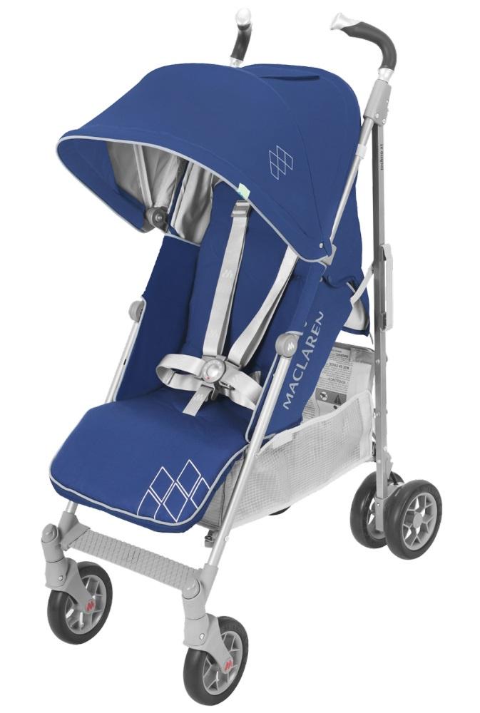 Коляска прогулочная Maclaren TECHNO XT Medieval Blue/Silver синий цена