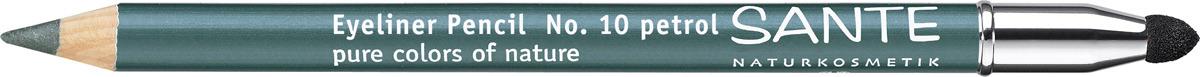 Карандаш для глаз Sante, тон №10, Зеленый