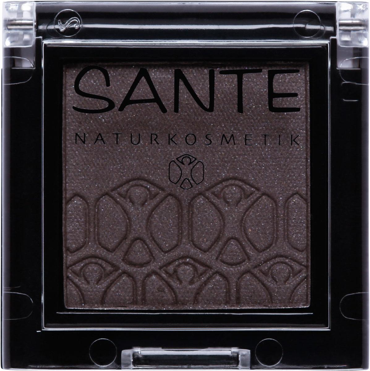 все цены на Тени для век Sante Моно, тон №06, Ослепительный серый онлайн