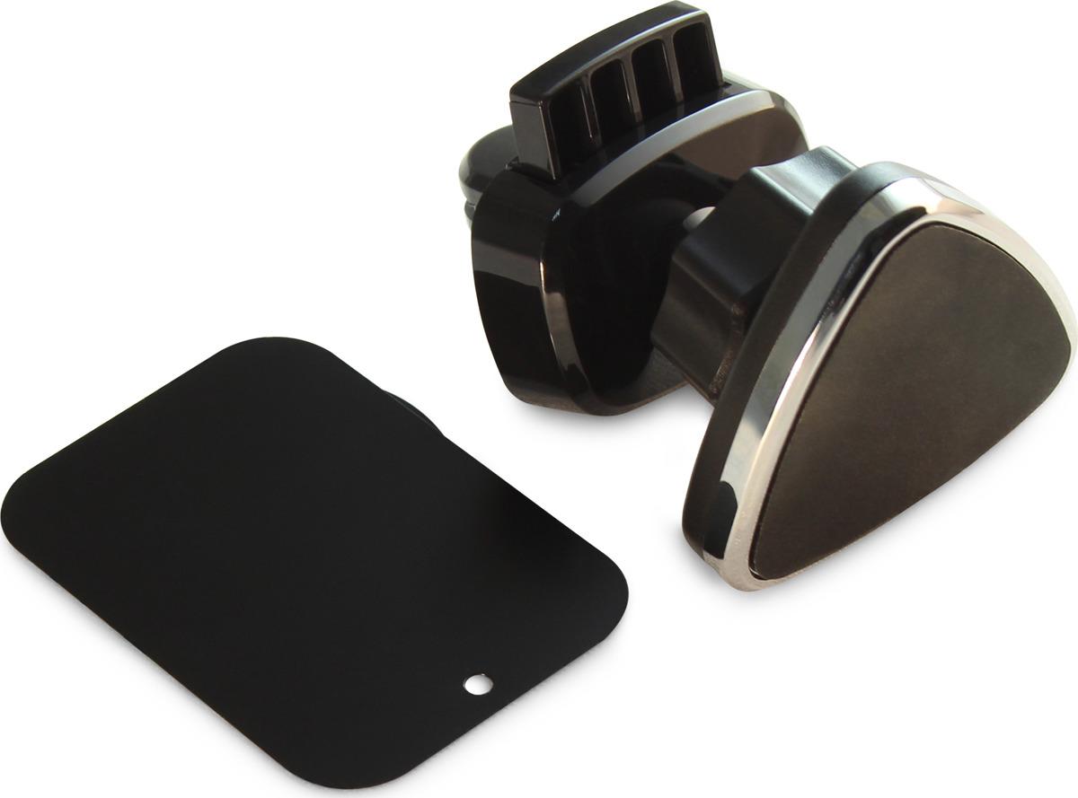 Автомобильный держатель для телефона Auto Element, магнитный, AC073, черный автомобильный держатель для телефона lp универсальный на присоске белый синий 04223