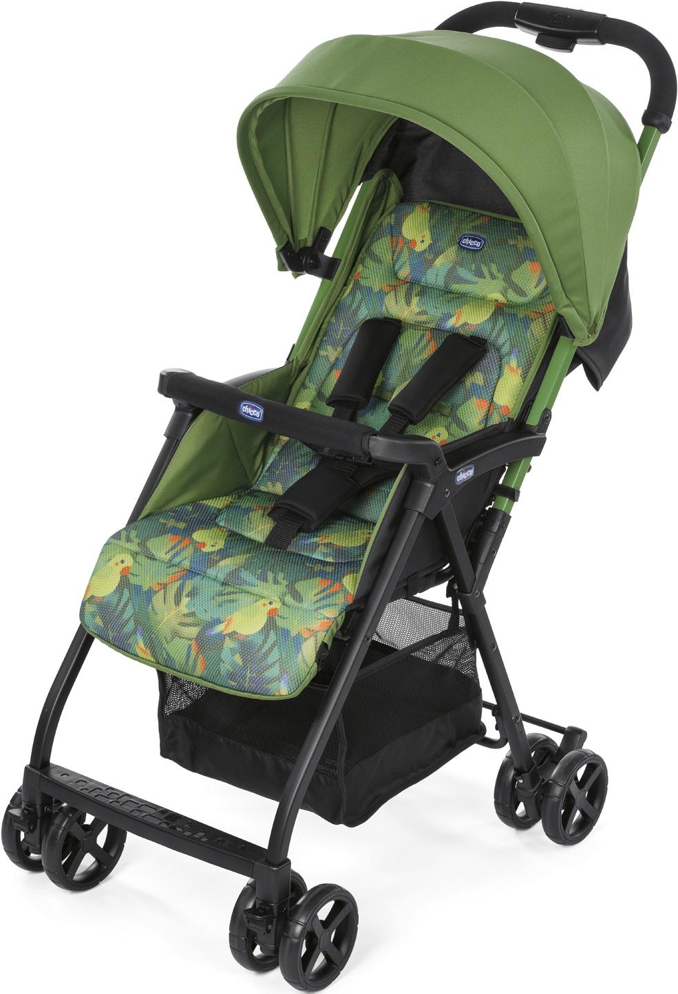 Прогулочная коляска Chicco Ohlala 2, Tropical Jungle прогулочная коляска chicco ohlala tropical jungle
