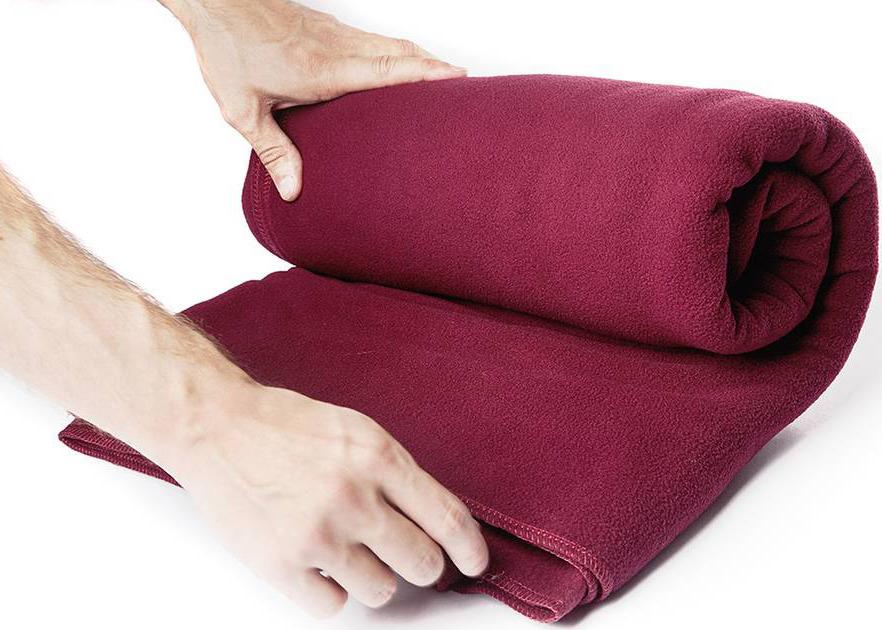 Плед RamaYoga Сурья для шавасаны, нидры и релаксации, бордовый, 200 х 150 см RamaYoga