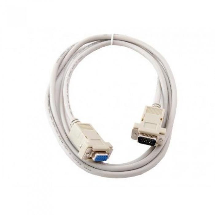 Фото - Удлинитель Dahan DH-CAB015-10, серый кабель для монитора vga 15m 15m 40 0 метров