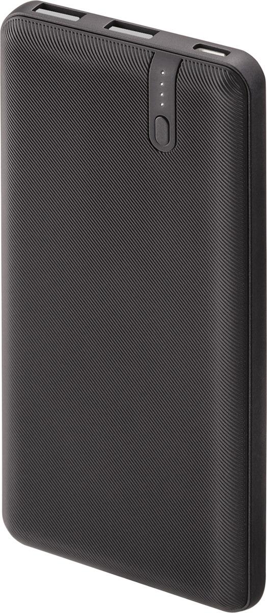 Внешний аккумулятор Interstep Power Delivery PB10PM IS-AK-PB10POLMI-BLKB201, 10 000 мАч, черный цена