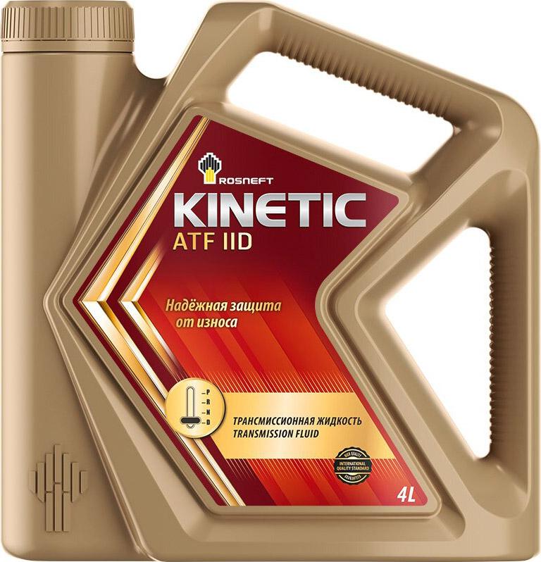 Трансмиссионное масло Роснефть Kinetic ATF IID, минеральное, 4 л