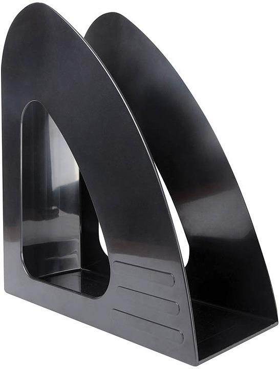 Лоток для бумаг Berlingo Mega Top, вертикальный, MLv_00501, черный футляр для папок формата оптима классик бордовый