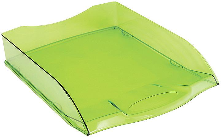 Лоток для бумаг Berlingo City Style, горизонтальный, MLg_01204, зеленый лоток для бумаг вертикально горизонтальный семисекционный черный лт 41