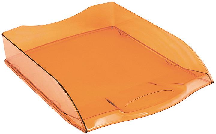 Лоток для бумаг Berlingo City Style, горизонтальный, MLg_01216, оранжевыйMLg_01216Горизонтальный лоток для хранения бумаг формата А4. Лотки могут устанавливаться один на другой.