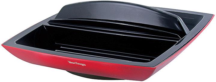 Органайзер настольный Berlingo Supertwist, вращающийся, MOn_00101, черный, красный