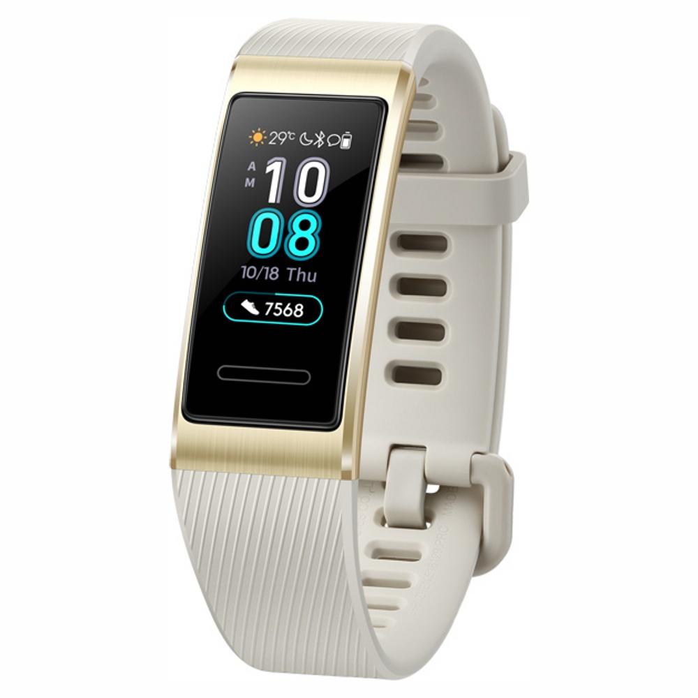 Фитнес-браслет Huawei Band 3 Pro, Gold, золотой фитнес браслет huawei band 3 pro черный