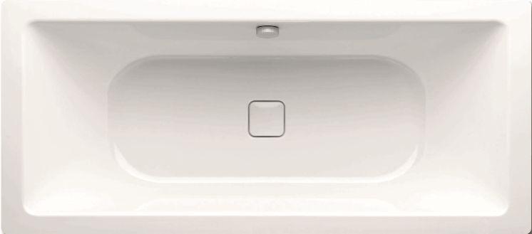 Ванна Kaldewei стальная733, белый kaldewei для ванны conoduo ka 4080 6877 7200 0001