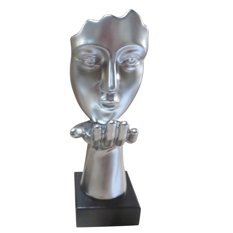 Фигурка декоративная Triumph Market RK-609724/серебро цена и фото
