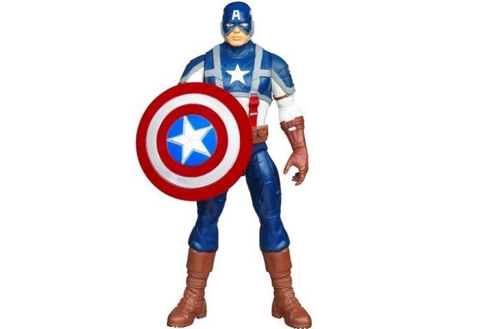 Фигурка Hasbro Captain America 1pcs newest the avengers figure anime interesting ironman spiderman captain america glove emitter cosplay toys for children