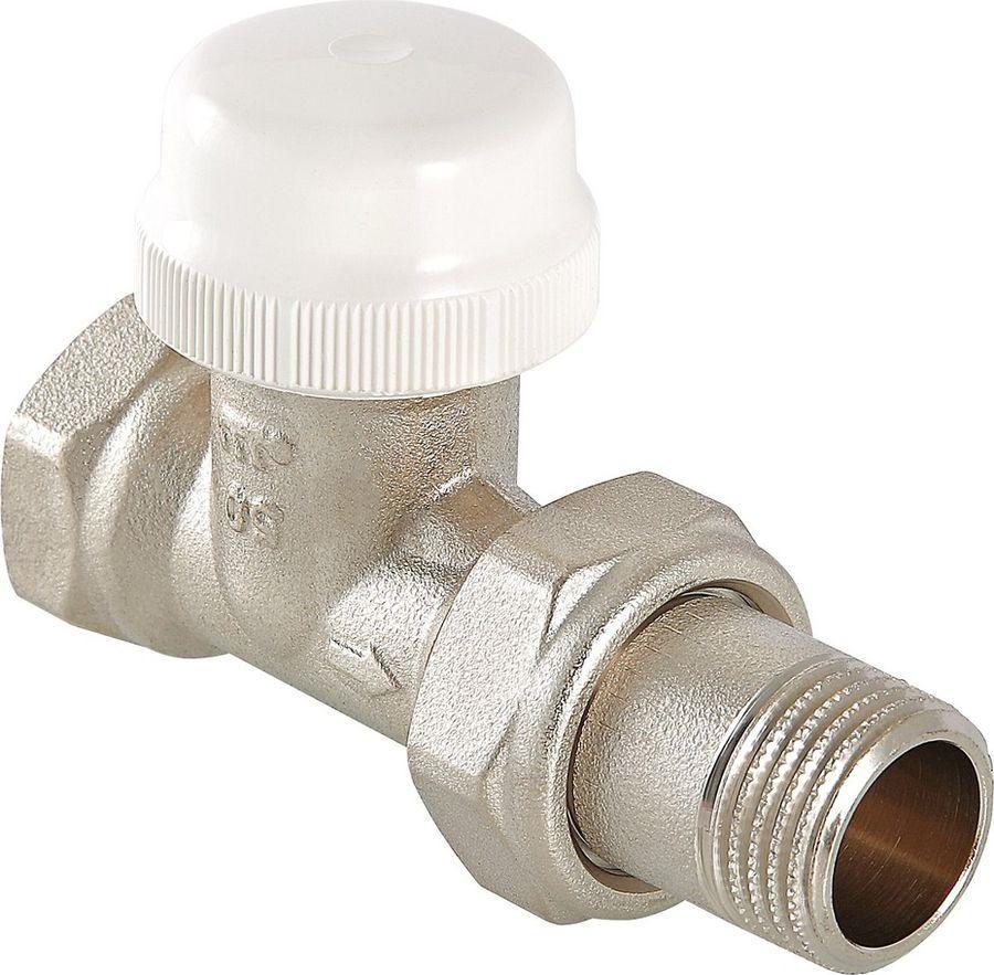 Клапан сантехнический Valtec термостатический для радиатора, прямой 1/2, с дополнительным уплотнением, VT.032.N.05