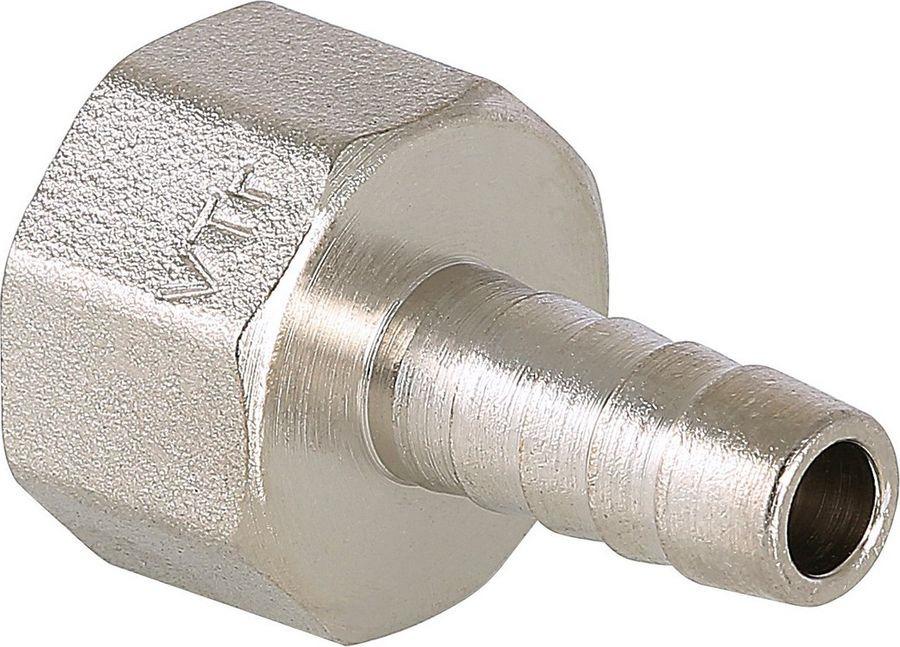 Фитинг сантехнический Valtec для присоединения шланга, 1/2 вн. р. Х10 мм штуцер для шланга 3 4 с наружной резьбой 1 denzel 97272