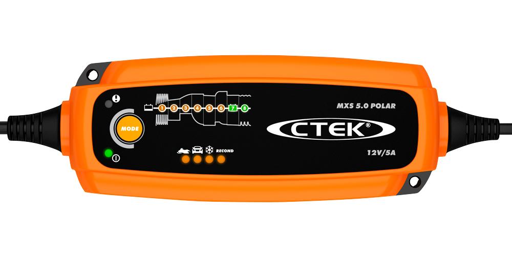 Автомобильное зарядное устройство CTEK MXS 5.0 POLAR