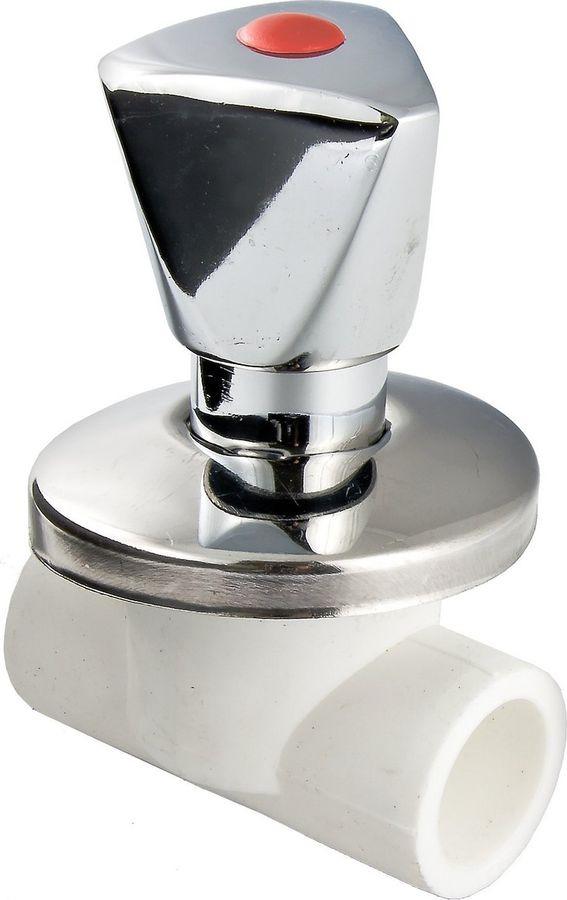 Вентиль Valtec полипропиленовый хромированный 20мм цена