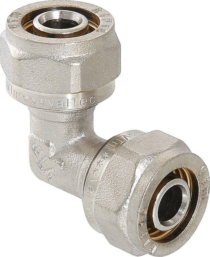 Фитинг сантехнический Valtec угольник обжимной, 20 rj45 коннектор обжимной
