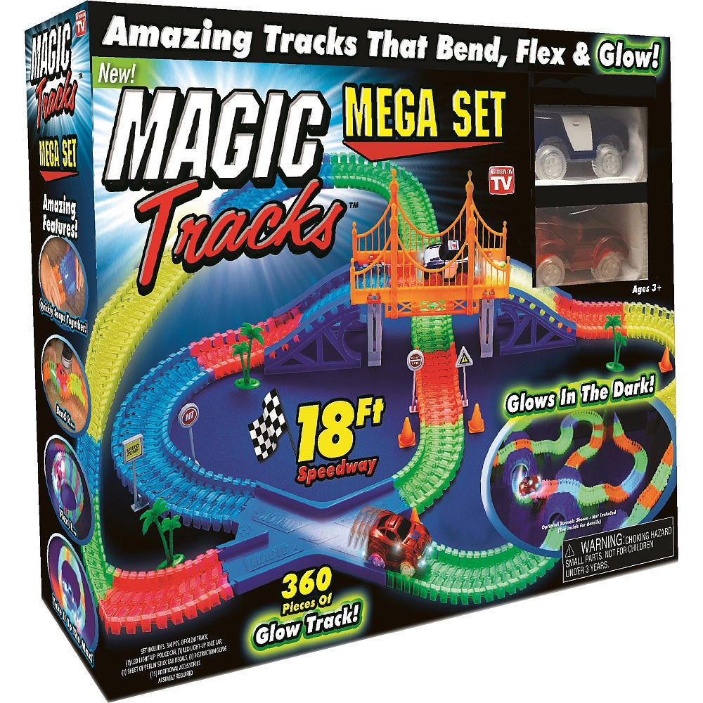 Игровой набор Magic Tracks КОНСТРУКТОР MAGIC TRACKS 360 ДЕТАЛЕЙ дополнительные детали для волшебной трассы top shop magic tracks