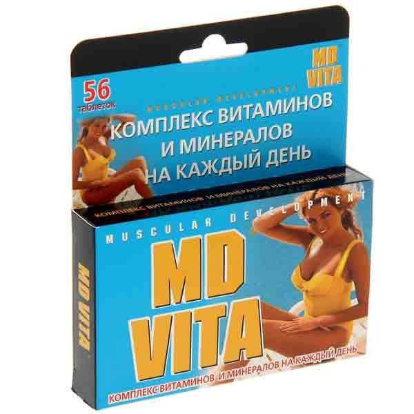 Витаминно-минеральный комплекс MD Vita, 56 таблеток