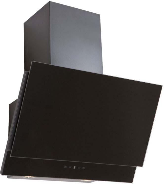 Встраиваемая вытяжка Elikor Жемчуг 60П-700-Е4Д, черный