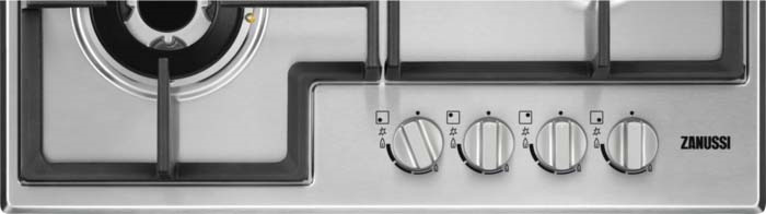 Варочная панель Zanussi GPZ363SS, газовая, серебристый Zanussi