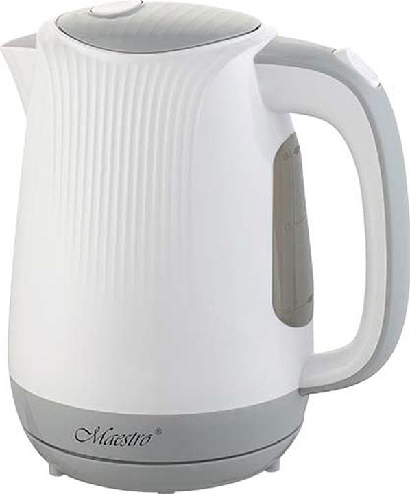 Электрический чайник Maestro, MR-042, белый, бежевыйMR-042
