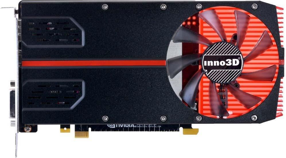 Видеокарта Inno3D GeForce GTX 1050 Ti 1-Slot Edition 4GB, N105T2-1SDV-M5CM видеокарта inno3d geforce gtx 1070 ti x2 v2 8gb n107t 2sdn p5ds