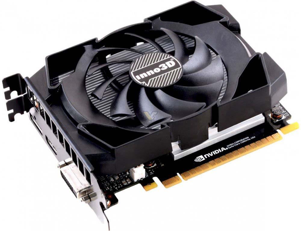 Видеокарта Inno3D GeForce GTX 1050 Ti Compact 4GB, N105T-1SDV-M5CM видеокарта inno3d geforce gtx 1070 ti x2 v2 8gb n107t 2sdn p5ds