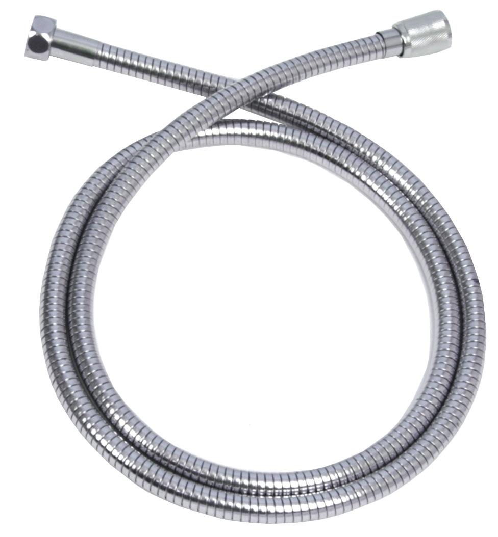 Душевой шланг Duschy Шланг для душа, серебристый шланг для душа gross aqua металлический усилен растягивающийся ga611 1 5 2 0