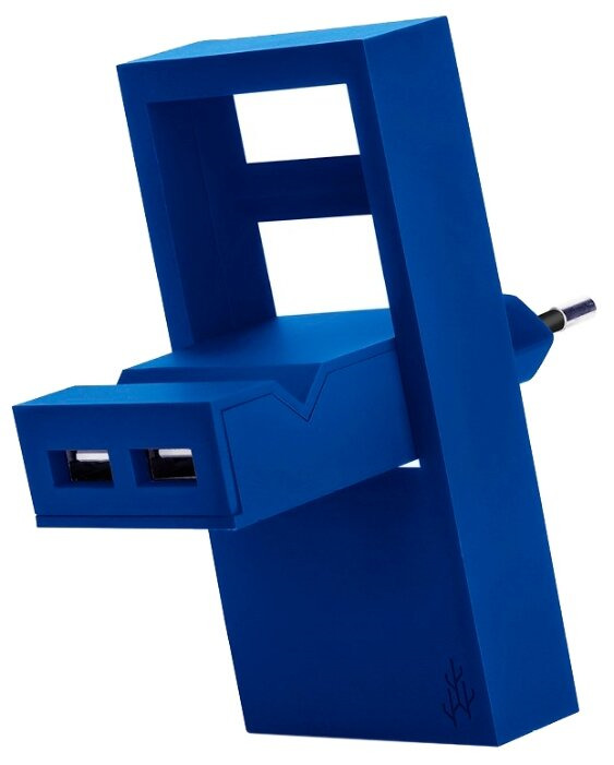 Фото - Зарядное устройство USBepower Rock, синий зарядное устройство usbepower rock коралловый