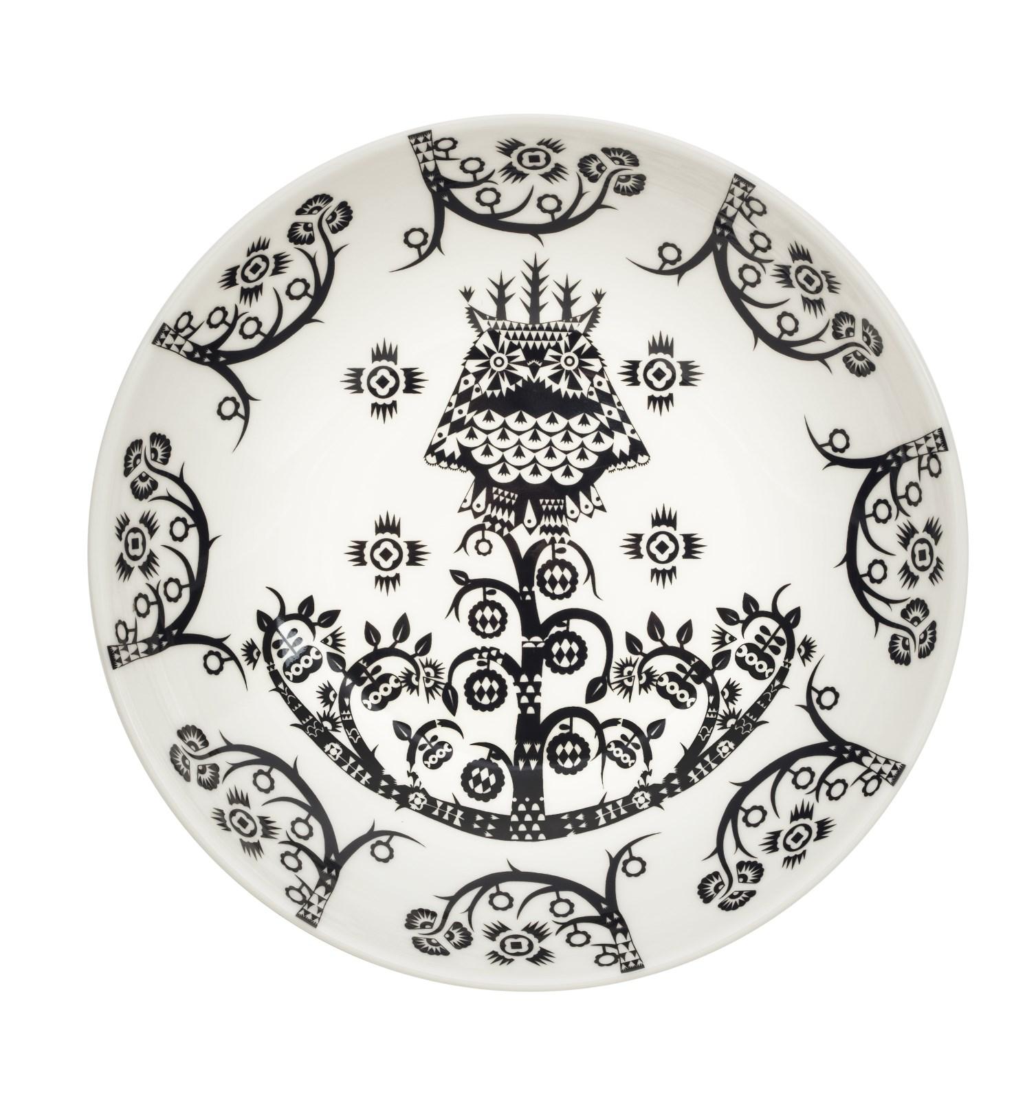 цена на Тарелка глубокая Iittala Taika глубокая с орнаментом, белый