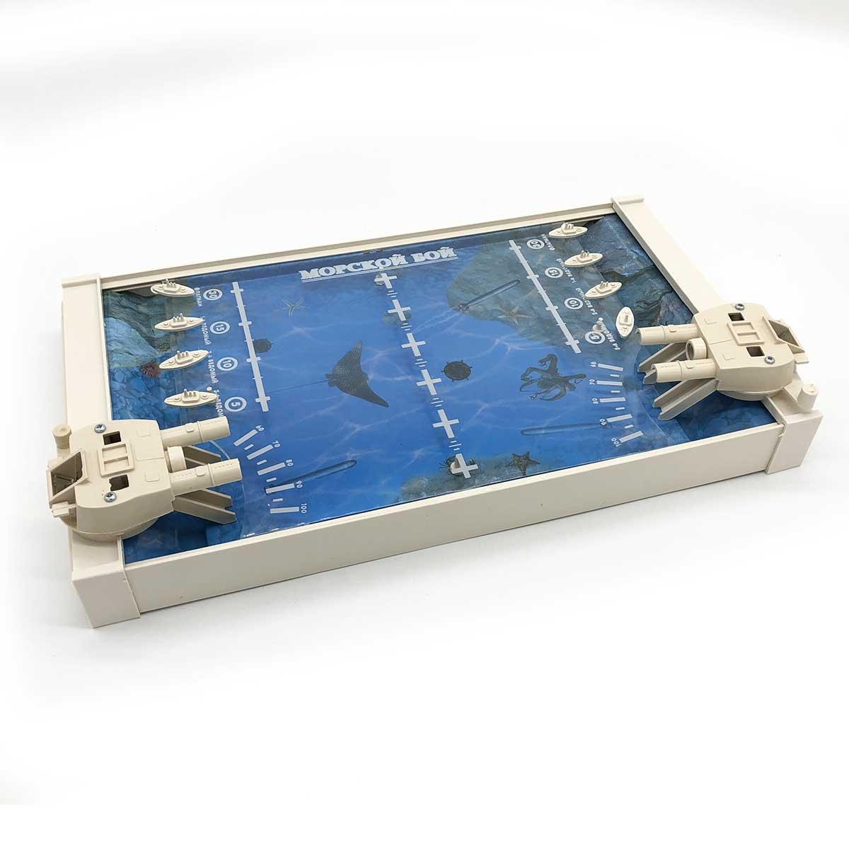 Настольная игра Colorplast Морской бой серый