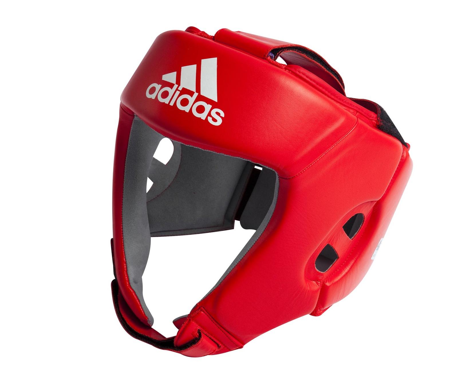 Шлем боксерский Adidas Aiba, красный все цены