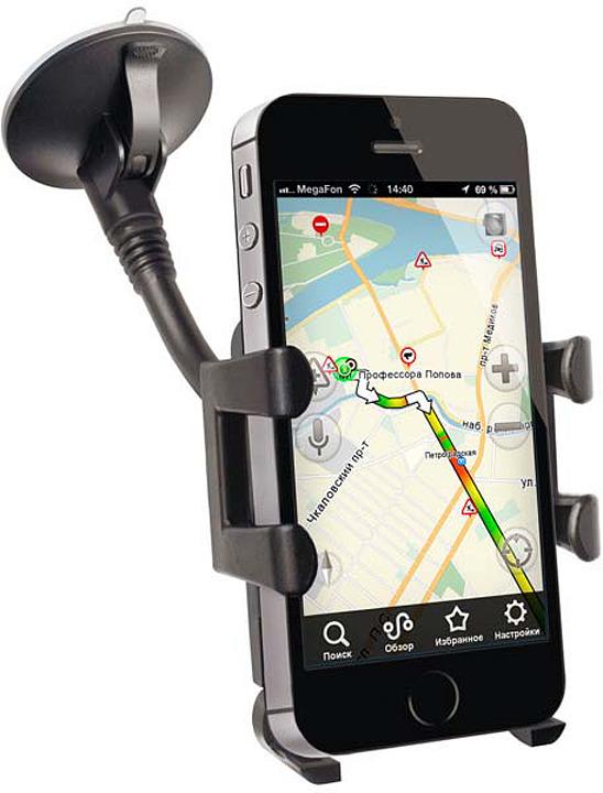 Автомобильный держатель для смартфонов Prime Line, 5501, черный автомобильный держатель cm03bl01 sp черный
