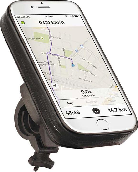 Велосипедное крепление для мобильного Prime Line, 5505, черный