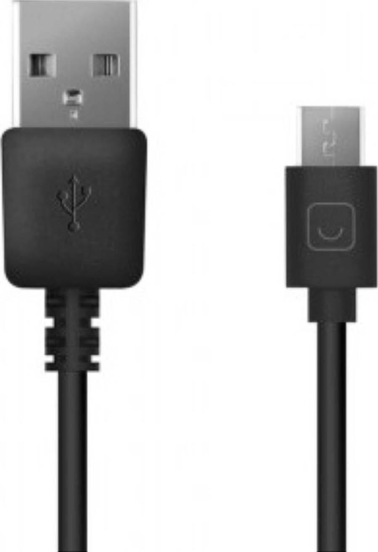 Дата-кабель Prime LineUSB-microUSB, 2 м,черный