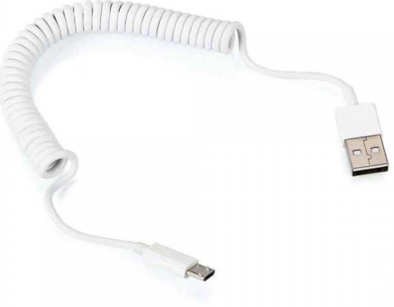 Дата-кабель Prime LineUSB-microUSB, 1.5 м, белый