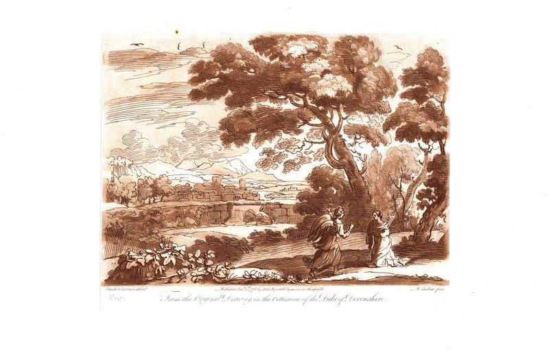 Гравюра Ричард Ирлом Лист 140. Ангел. Офорт, меццо-тинто. Англия, Лондон, 1776 год sergei daniel le lorrain