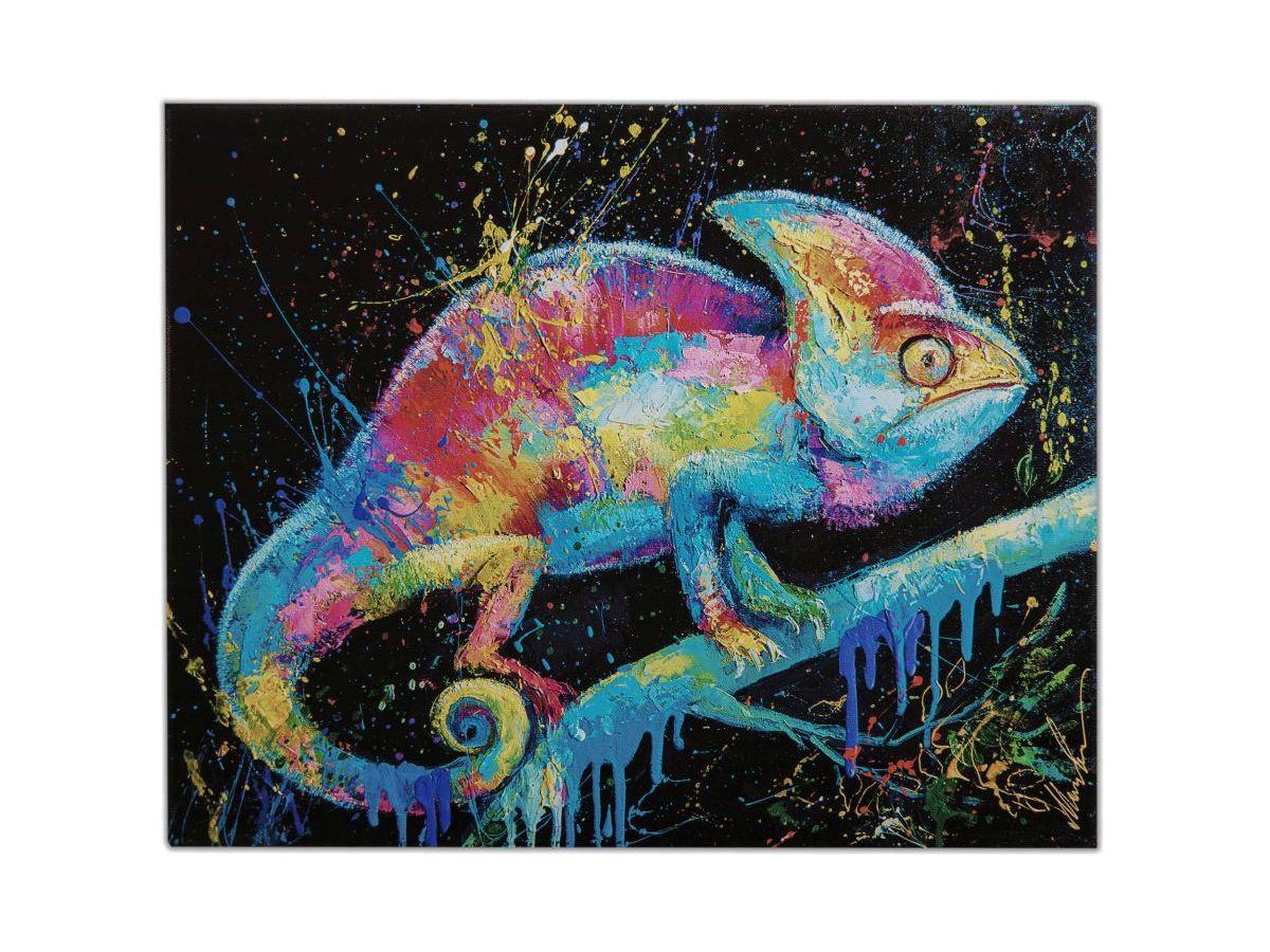 Картина de Pacheco Автор картины Моисеева Лиана, голубой