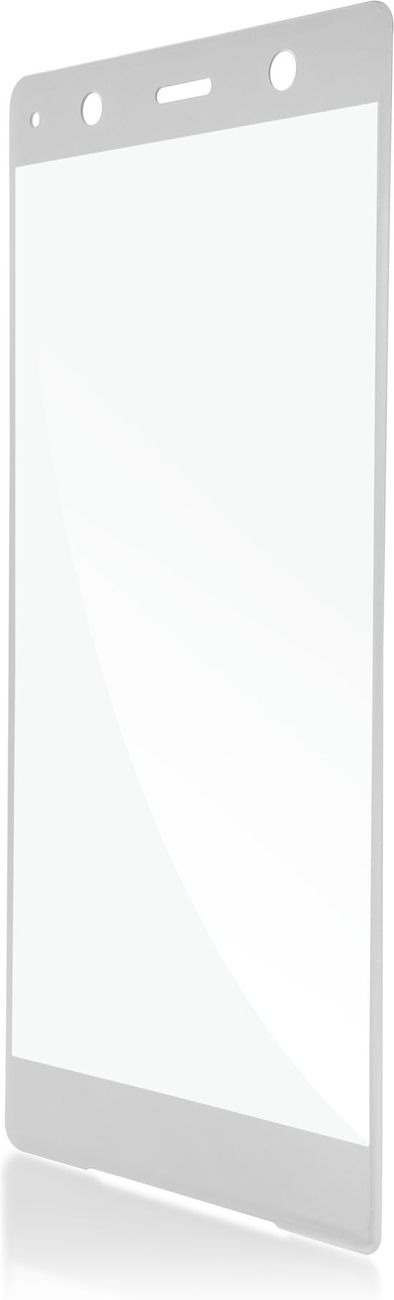 Защитное стекло Brosco 3D для Sony Xperia XZ2 Premium, серебристый wierss розовый для sony xz2
