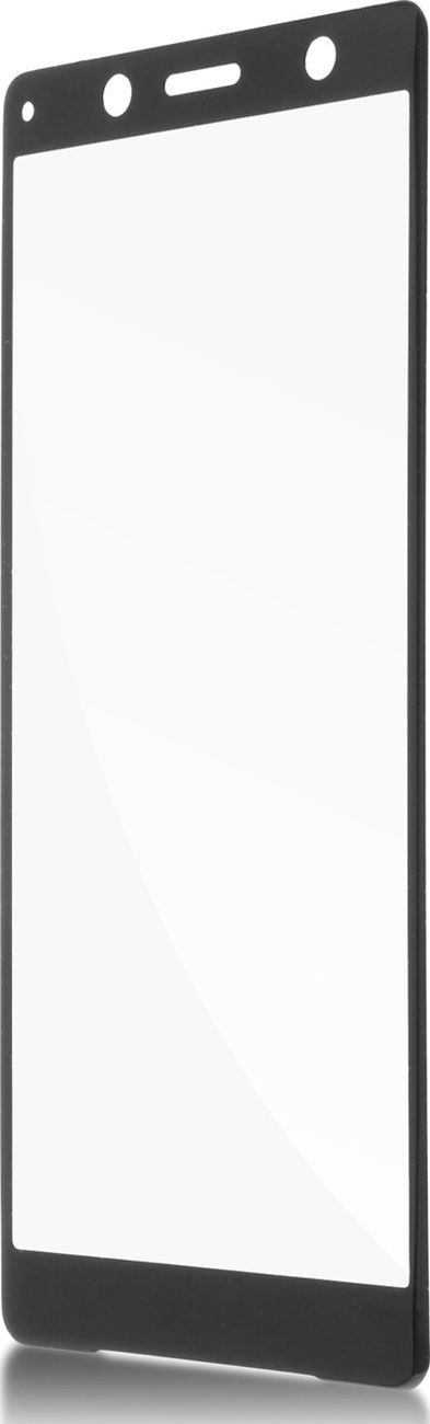 Защитное стекло Brosco 3D для Sony Xperia XZ2 Compact, черный wierss розовый для sony xz2